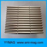Aimant de néodyme de cylindre de l'enduit D4.7X26mm du nickel N38