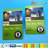 URL, das kontaktlose Visitenkarten des Plastik Ntag215 NFC kodiert