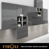 우아한 현대 디자인 회색 멜라민 색깔 부엌 찬장 및 부엌 가구 (AP151)