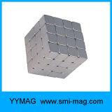 Yymagのブロック10X10X10mmの極度の強い希土類ネオジムの磁石