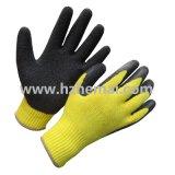 10g Handschoen van het Werk van de Veiligheid van de kreuk de Latex Met een laag bedekte