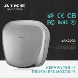 Plástico ABS Auto Jet secador de ar Mão para o banheiro (AK2630)