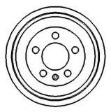 Pièces de frein de rechange Batterie de frein pour Audi / Seat / Skoda / Volkswagen