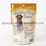최신 판매 주문 로고는 지플락을 위로 서 있다 애완 동물 먹이를 위한 주머니를 인쇄했다