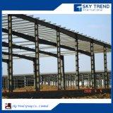 Fácil de acero de la luz de la construcción de acero Plan Pre-Fabricated galpón Industrial