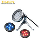세륨 승인되는 고성능 IP68 스테인리스 크리 사람 RGB 통제 LED 수영풀 빛