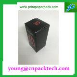 Rectángulo de empaquetado impreso del regalo del rectángulo de papel de la cartulina