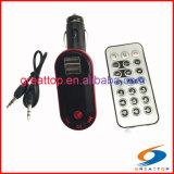 controlo remoto do modulador de Rádio Bluetooth Carro transmissor de rádio MP3