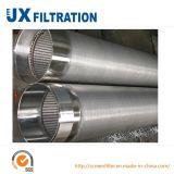 Filtros para pozos del agua del acero inoxidable para la perforación bien