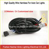 LED作業ライト、LEDのライトバー2/3メートルワイヤー馬具