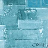 Papel do teste padrão da tela das calças de brim para a mobília