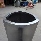FO-9031 de Containers van de Pot van de Installatie van de Tuin van het Roestvrij staal van de driehoek