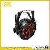La calidad 12PCS * 12W LED resistente al agua Luz PAR Pi65