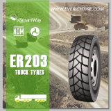 pneus radiaux de camion de l'escompte 315/80r22.5 tous les pneus bon marché chinois de remorque de pneus de terrain