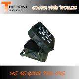 12 X17W DMX LED 가벼운 건전지 Powred 편평한 동위는 할 수 있다