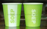 Impression couleur à paroi simple Eco Friendly Les tasses de papier