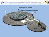 Напольный фонтан Waterscape нот проектирует средний размер фонтанов