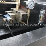 QC12y Feixe Hidráulico do Giro da máquina de corte da placa de cisalhamento e máquina de Cisalhamento
