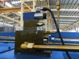 maquinaria hidráulica da placa do corte do CNC da placa de metal do comprimento de 3m