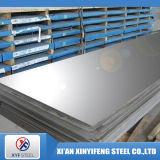 Plaque plate d'acier inoxydable d'ASTM 0.3-3mm