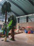 水公園のスライドの鉄骨構造のトラス