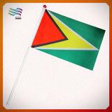 Национальные полиэстер стороны развевается флаг для подарков (HYHF-AF054)