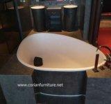 固体表面のホテルの習慣によって大きさで分類される自由な立場の洗面器