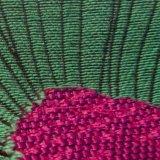 Пряжа Вся обшивочная ткань жаккард химического волокна полиэфирная ткань для одежды нанесите на
