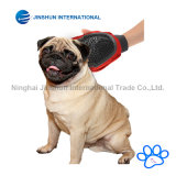 우수한 질 2-1 애완 동물 손질 고양이 & 개 &ndash를 위한 고무 장갑 공구; 결박 &ndash를 가진 애완 동물 머리 제거제 Mitt; 1개 크기는 모두를 적합하다