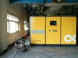 Compressore d'aria a magnete permanente a due fasi della vite di VSD