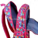 Trouxa de nylon do estudante das meninas da forma de volta ao saco de escola