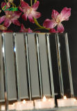 Florero de cristal del arte del espejo rectangular