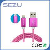 Fabbrica direttamente 2 in 1 cavo di dati flessibile del caricatore del USB del cavo di dati multi per il Android e il iPhone (rossi)
