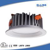 Luz de techo ahuecada proyector de IP44 LED LED abajo Downlight ligero 30W