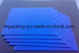 Strato di plastica ondulato di /Coroplast dello strato dei pp trattato corona gialla blu grigia bianca/fare pubblicità allo strato di plastica 8mm 10mm 4 ' *8'