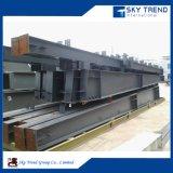 Pré-assemblé en usine à faible coût préfabriqués en acier du bâtiment de l'atelier