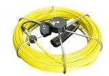 camera V8-1288kc van de Inspectie van de Rioolbuis van het Riool van het Niveau 700tvl van de Kabel van 20m/30m/40m/50m de Mini Zelf