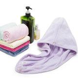 Casquillo de secado rápido promocional caliente de la toalla del pelo