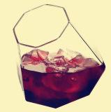 Чашка стекла пива изготовленный на заказ боросиликата ромбовидная