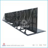 Altura da barreira de segurança de alumínio de 1,8 m