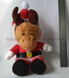 Free Sample Teddy Bear Christmas Gift Doll Plush Soft Toy para presente promocional