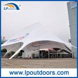 Grandi tende di alluminio dello schermo della stella del Palo con il marchio