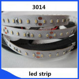 3014 de un solo color 120LED / M tira flexible del LED
