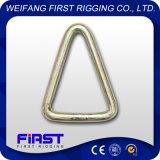 Collegamento rotondo del triangolo di collegamento del triangolo di collegamento di collegamento D di collegamento a forma di pera fornito fabbrica dell'Assemblea di maglia di connessione di maglia di connessione G80 dell'acciaio legato con la crociera
