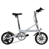 14 velocidade da liga de alumínio 7 da polegada uma bicicleta de dobramento Yzbs-7-14 do segundo