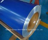 Alto brillo de color del techo de metal de acero galvanizado recubierto de precio de la bobina