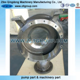 Cubierta centrífuga de la bomba de agua con el acero inoxidable CD4/316