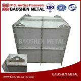 Ss 316L de procesamiento de lámina metálica de acero inoxidable armario de depósito de valores de fábrica China personalizado