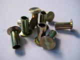 Het zink plateerde de Semi Holle Klinknagels van de Remvoering L10 6X16mm