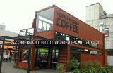 De nieuw Koffiebar van de Winst van het Type Laag Draagbaar Eenvoudig Mobiel Geprefabriceerd/Prefab/Huis in de Straat